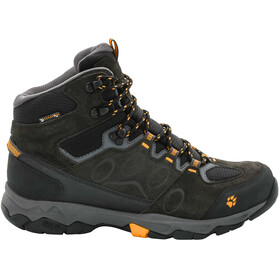 Jack Wolfskin MTN Attack 5 Texapore Chaussures de randonnée à tige moyenne Homme, burly yellow
